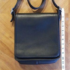 Vintage Coach Leather Flap Bag
